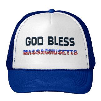 神はマサチューセッツを賛美します メッシュ帽子