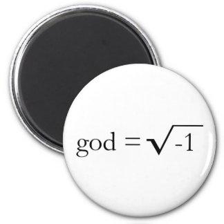 神は想像です マグネット