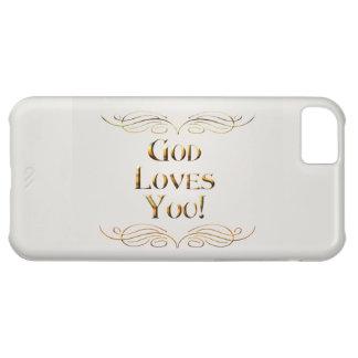 神は愛します! iPhone5Cケース