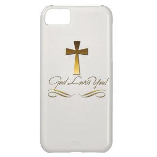神は愛します iPhone5Cケース