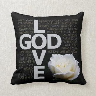 神は愛です クッション