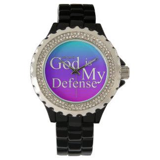 神は私の防衛です 腕時計