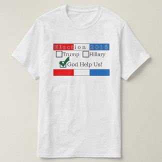 神は私達に選挙のTシャツを救済します Tシャツ