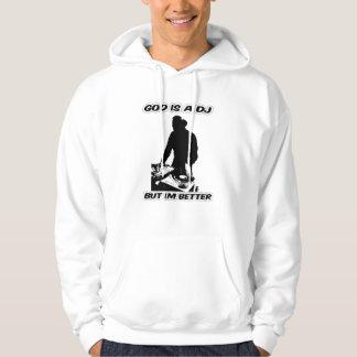 神はDj imよりよいフード付きスウェットシャツでありではない。 パーカ