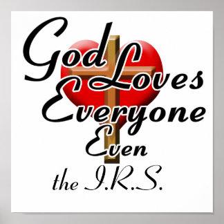 神はIRSを愛します! ポスター