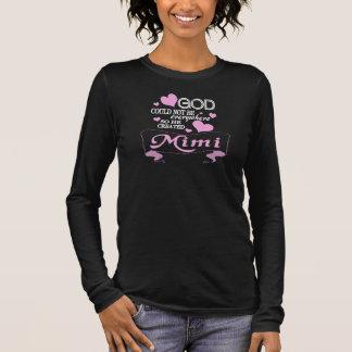 神はMiMiを作成しました Tシャツ