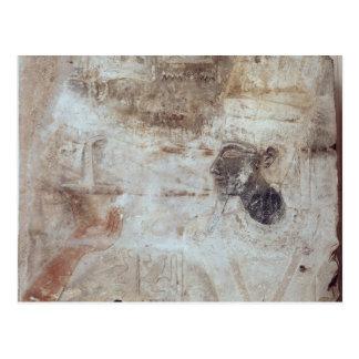 神へのTuthmosis IIIの提供の香、 ポストカード