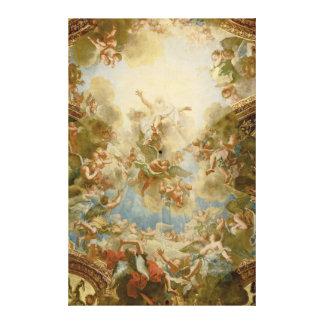 神アントワーヌCoypel著父の全能の神 キャンバスプリント