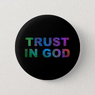 神ボタンの信頼 5.7CM 丸型バッジ