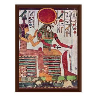 神再Harakleti AmentitおよびThの女神 ポストカード