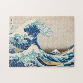 神奈川のパズルの素晴らしい波 ジグソーパズル