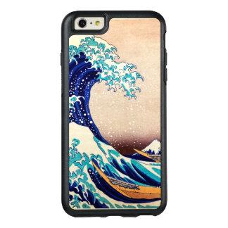 神奈川のヴィンテージの日本人のプリントの芸術を離れた素晴らしい波 オッターボックスiPhone 6/6S PLUSケース