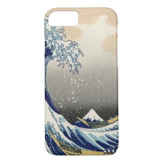 神奈川のiPhone 7を離れた素晴らしい波 iPhone 8/7ケース