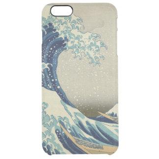 神奈川を離れた素晴らしい波 クリア iPhone 6 PLUSケース