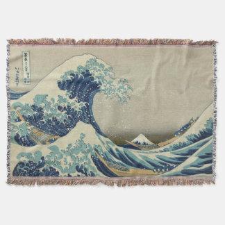 神奈川を離れた素晴らしい波 スローブランケット
