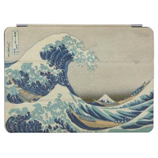 神奈川を離れた素晴らしい波 iPad AIR カバー