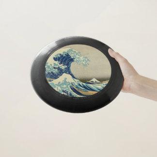 神奈川を離れた素晴らしい波: Woodblockのプリント Wham-Oフリスビー