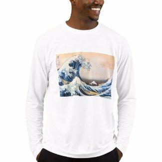 神奈川沖浪裏、北斎の素晴らしい波、Hokusai T-シャツ