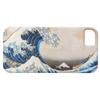神奈川沖浪裏、北斎の素晴らしい波、Hokusai、Ukiyo-e iPhone SE/5/5s ケース
