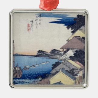 神奈川: リッジの眺め メタルオーナメント
