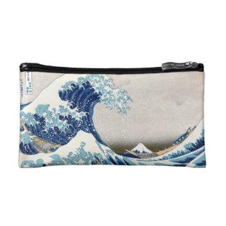 神奈川Hokusaiのファインアートを離れた北斎の素晴らしい波 コスメティックバッグ