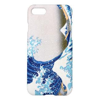神奈川Hokusaiのファインアートを離れた北斎の素晴らしい波 iPhone 8/7 ケース