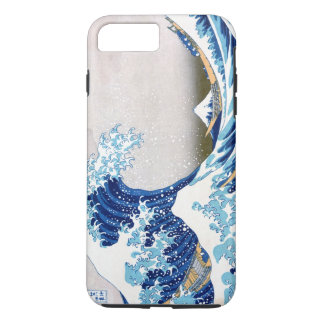 神奈川Hokusaiのファインアートを離れた北斎の素晴らしい波 iPhone 8 Plus/7 Plusケース