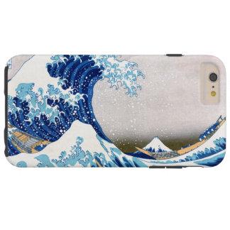 神奈川Hokusaiのファインアートを離れた北斎の素晴らしい波 Tough iPhone 6 Plus ケース