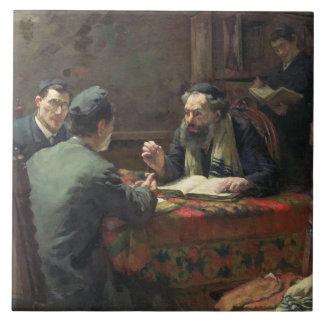 神学的な討論1888年 タイル