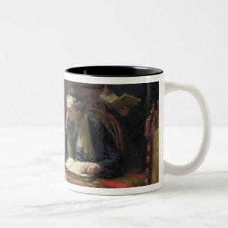 神学的な討論1888年 ツートーンマグカップ