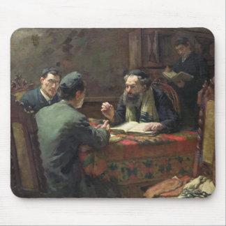神学的な討論1888年 マウスパッド