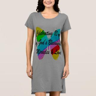 神恵みおよび愛の85 YRSを祝うこと ドレス