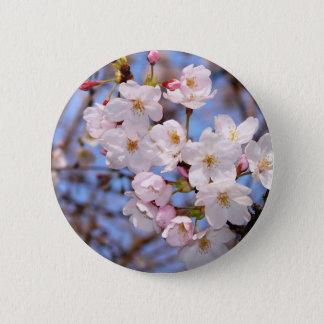 神戸にある桜開花の作品 5.7CM 丸型バッジ