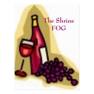 神社の霧、ShrineFOG ポストカード