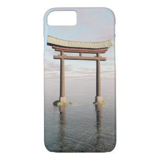 神社のToriiの日本のな浮遊ゲート iPhone 8/7ケース
