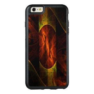 神秘性のジャングルの抽象美術 オッターボックスiPhone 6/6S PLUSケース