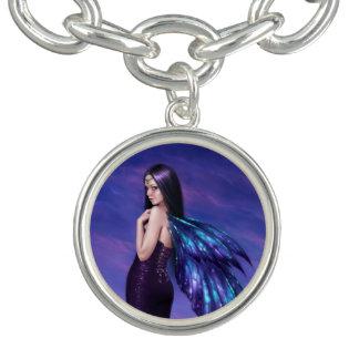 神秘性の暗い妖精のチャームブレスレット チャームブレスレット