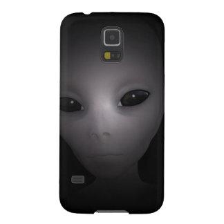 神秘的で黒いエイリアン GALAXY S5 ケース