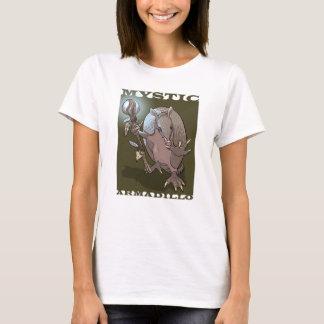 神秘的なアルマジロのキャラクター Tシャツ