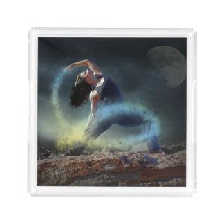 神秘的なダンサー アクリルトレー