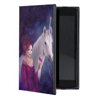 神秘的なユニコーンの芸術のiPad Miniケース iPad Mini ケース