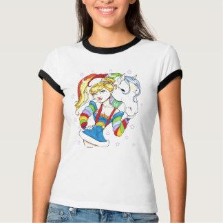 神秘的な反射虹のワイシャツ Tシャツ