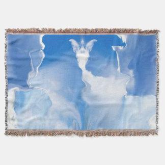 神秘的な天使 毛布