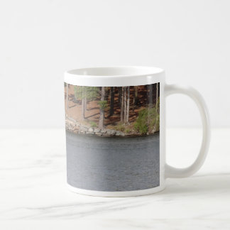 神秘的な島 コーヒーマグカップ