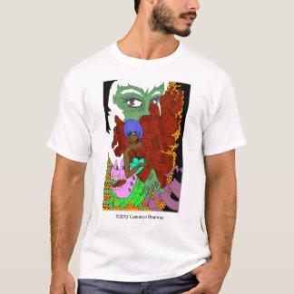 神秘的な現実の据え付け品 Tシャツ