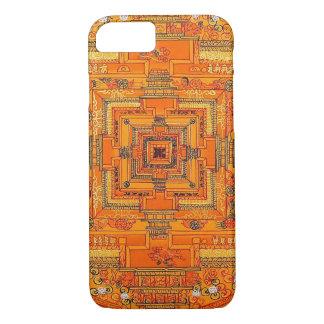神秘的な白熱曼荼羅 iPhone 7ケース
