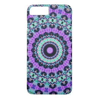 神秘的な紫色の曼荼羅 iPhone 8 PLUS/7 PLUSケース