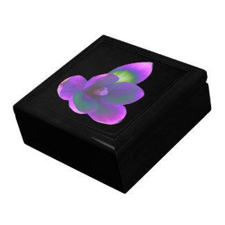 神秘的な美しいのクロッカスの花のギフト用の箱 ギフトボックス