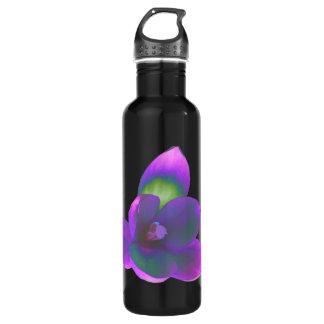 神秘的な美しいのクロッカスの花 ウォーターボトル