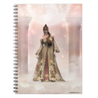 神秘的な美しい ノートブック